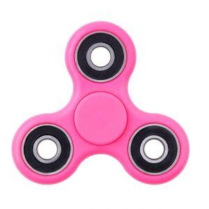 tri fidget spinner pink