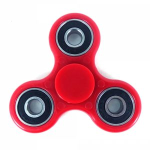 tri fidget spinner red
