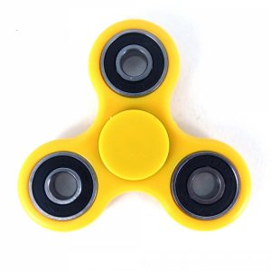 tri fidget spinner yellow
