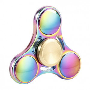 Fidget-Spinner-rainbow triple