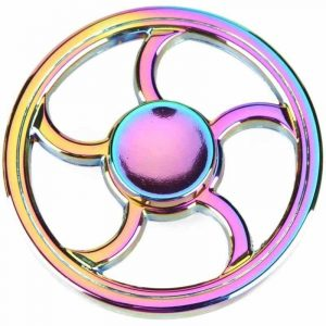 Circle-Steering-Wheel-Fidget-Spinner---Neo-Chrome