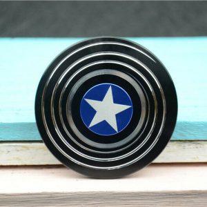 Disc-Hero-Captain-America-Fidget-Spinner---Black