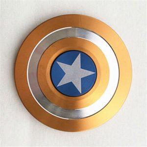 Disc-Hero-Captain-America-Fidget-Spinner---Orange