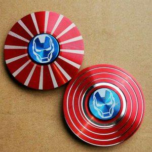 Disc-Hero-Iron-Man-Fidget-Spinner---Red