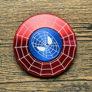 Disc-Hero-Spider-Man-3-Fidget-Spinner---Red