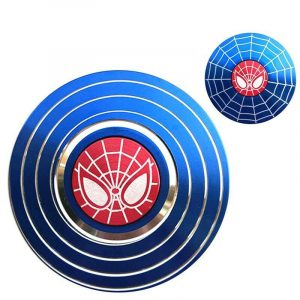 Disc-Hero-Spider-Man-Fidget-Spinner---Blue