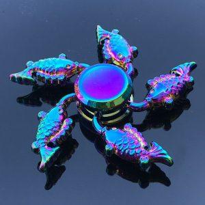Dolphin-Fish-Fidget-Spinner---Neo-Chrome