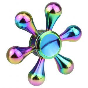 6 Way Fidget Spinners