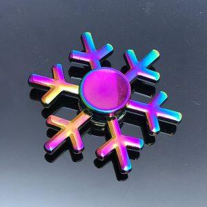 Frozen-Forest-Snowflakes-Fidget-Spinner---Neo-Chrome