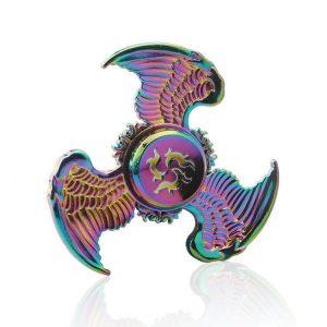 Hawk-Eagle-Wings-Fidget-Spinner---Neo-Chrome