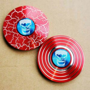 Hulk-Fidget-Spinner---Red