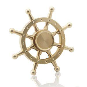 Rudder-Fidget-Spinner---Whole-Brass
