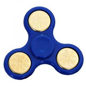 TRI-Fidget-Spinner---Blue-Gold-Floral