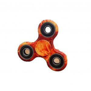 TRI-Fidget-Spinner---Colourful-Red