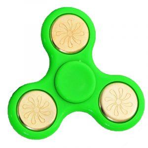TRI-Fidget-Spinner---Green-Gold-Floral