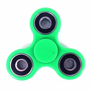 tri fidget spinner green
