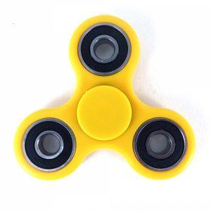 tri fidget spinner yellow