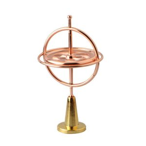 3D-Fidget-Spinner-with-stand---Rose-Gold