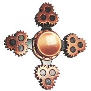 4-Cogs-Fidget-Spinner---Bronze