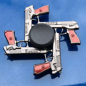4-Pistol-Fidget-Spinner---Black