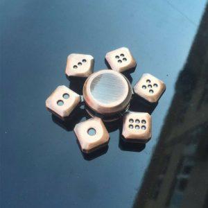 Antique-Dice-Fidget-Spinner---Brass