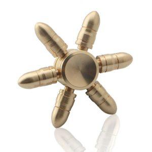 Bullet-2-Fidget-Spinner---Whole-Brass