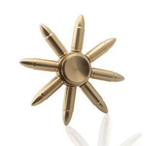 Bullet-3-Fidget-Spinner---Whole-Brass