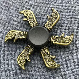 Chinese-Qinglong-Knife-Fidget-Spinner---Bronze