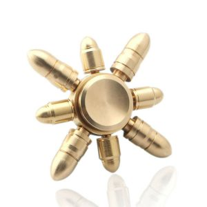 Combined-Bullet-Fidget-Spinner---Whole-Brass