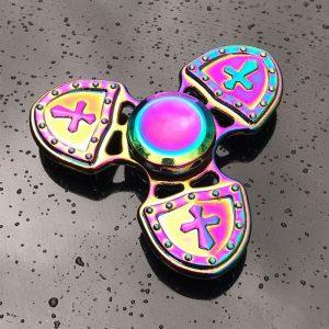 Cross-Shield-Fidget-Spinner---Neo-Chrome