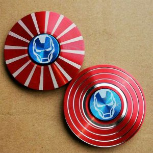 Disc-Hero-Iron-Man-Fidget-Spinner---Red