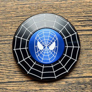 Disc-Hero-Spider-Man-3-Fidget-Spinner---Black