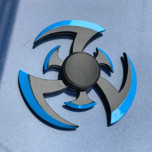 Flame-Whirlwind-Shuriken-Fidget-Spinner---Blue