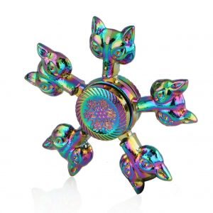 Fox-Head-Fidget-Spinner---Neo-Chrome
