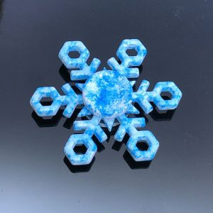 Frozen-Crystal-Snowflakes-Fidget-Spinner---Icy-Blue