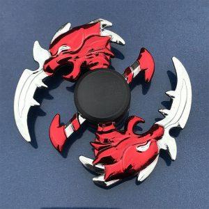 Hideous-Shuriken-Fidget-Spinner---Red