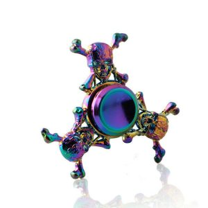 Mini-Dead-Skull-Fidget-Spinner---Neo-Chrome