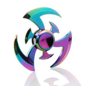 Phoenix-Wing-Ninja-Dart-Fidget-Spinner---Neo-Chrome