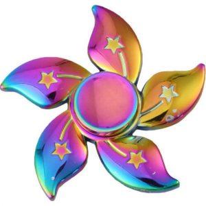 Redbud-Flower-Fidget-Spinner---Neo-Chrome