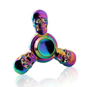 Skull-Evil-Warcraft-Fidget-Spinner---Neo-Chrome