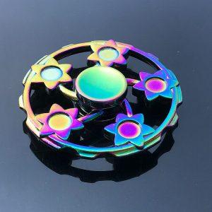 Sunflower-Fidget-Spinner---Neo-Chrome