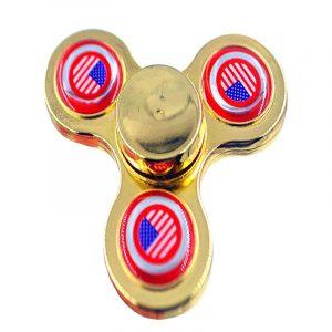 TRI-Fidget-Spinner---Gold-Red-US-Flag